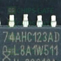 6PCS SN74AHC123AD IC DUAL RETRIG MULTIVIB 16-SOIC TI