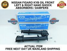 FITS NISSAN FIGARO FRONT  KYB LEFT & RIGHT OIL SHOCK ABSORBERS / DAMPERS