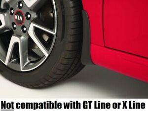 2021 Kia Soul EX LX S Models 4PC SET SPLASH GUARDS MUD FLAPS MUD GUARD FLAP kit
