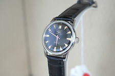 Unworn LONGINES Conquest Heritage Automatic Black Dial Mens 35mm Watch Swiss