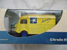 Citroen hy advertising michelin tube 1/43 ° eligor for Atlas in box plexi