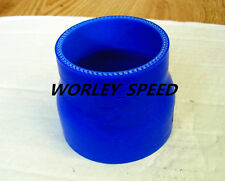 BLUE Silicone Hose 63mm-76mm 2.5'' to 3'' Straight Turbo Straight Reducer