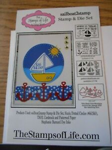 Stamps of Life Stamps & Die sailboat2stamp dies & 2 stamp sets