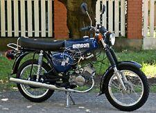 Simson S 51 b, neu aufgebaut! 12 Volt! 4 Gang! Bj. 1981 (59)