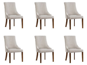 6x Designer Pads Chair Set Chairs Complete Lehn Seat Lounge Club New