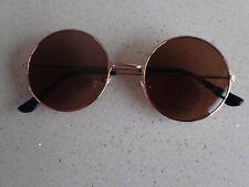 Vintage John Lennon Style Round Retro Metal Frame Classic Sunglasses