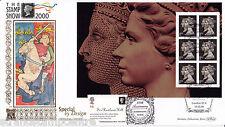2000 SPECIAL BY DESIGN FRANCOBOLLO Prestige LIBRO-BENHAM ORO (500) FUNZIONARIO