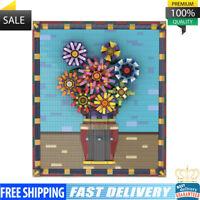 Sunflowers Van Gogh series Building Blocks 1282 PCS Good Quality Bricks Toys