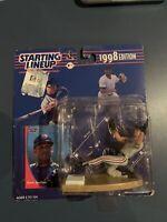 STARTING LINEUP - MLB - DAVID JUSTICE - Cleveland Indians - New Rare 1998 Card