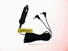 "Car Charger Power For Philips AY4197 Dual Screen PD9016 9"" PD9016/37 DVD player"