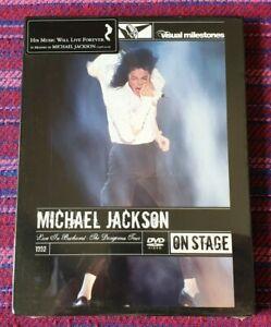 Michael Jackson ~ Live In Bucharest: The Dangerous Tour ( Hong Kong Press ) DVD