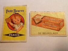Etiquette allumette - PETIT BEURRE - PAREIN - DE BEUKELAER - Belgium - (34)