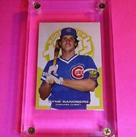 2005 Topps Rookie Cup YELLOW /299 #49 Ryne Sandberg Chicago Cubs Baseball Card