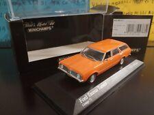1/43 Minichamps Ford Taunus Turnier 1970 400081311 1-2016 arancio orange naranja