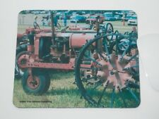 Antique Metal Wheel Tractor Mousepad, Hot Pad, Hand Imprinted Photo
