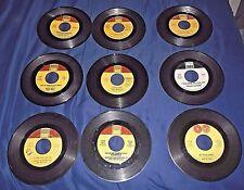 LOT OF 9 RETRO 1960'S TAMLA LABEL 45 RPM RECORDS *PLEASE LOOK*