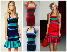 Karen Millen Satin Party Striped Dresses for Women