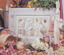 Shepherds Bush Spring Sampler Cross Stitch Pattern Chart EUC