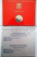 """Pièce 2 euros commemorative VATICAN 2016 """"bicentenaire GENDARMERIE VATICANE"""""""