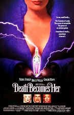 """Death Becomes Her movie poster - 11"""" x 17"""" inches - Meryl Streep, Goldie Hawn"""