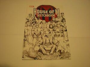 House Of M Sketchbook #1 (2005) Marvel Comics Promo FCBD Avengers X-Men VF/NM