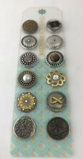 Ginger Snaps Lot of 12 GingerSnaps Snap Charms, New