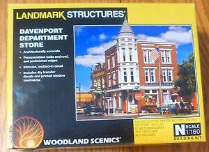 Woodland Scenics N #5214 Davenport Department Store (Kit) NEW BUILDING