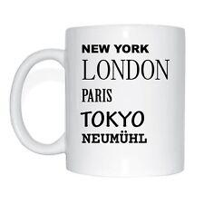 New York,London,Paris,Tokyo , neumühl Cup of Coffee