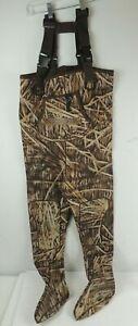 KOBUK Men's Mossy Oak Hunting Neoprene Stocking Foot Water Size Medium