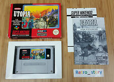 Super Nintendo SNES Utopia PAL