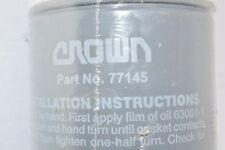"""NEW CROWN 77145 1"""" NPT FITTING HYDRAULIC FILTER"""