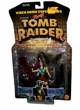 Video Game Superstars Tomb Raider Lara Croft W/Wicked Weapons & Ferocious Fores