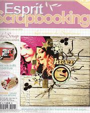 ESPRIT SCRAPBOOKING - N°24 - décembre 2011- janvier 2012 - scrap pour enfants
