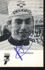 JEAN-LUC VANDENBROUCKE cyclisme cycling signed PEUGEOT