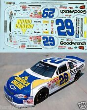 NASCAR DECAL #29 AMERICAN ONLINE-GOODWRENCH 2001 MONTE CARLO  HARVICK SLIXX