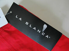 NWT $49 La Blanca Swimsuit Cover Up Skirt Red Sz XS