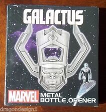 MARVEL GALACTUS METAL BOTTLE OPENER. 4 INCHES. NEW IN BOX