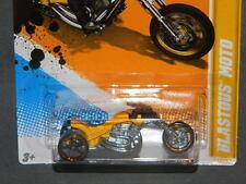 HW HOT WHEELS 2012 NEW MODELS #41 BLASTOUS MOTORCYCLE HOTWHEELS YLLW VHTF RARE