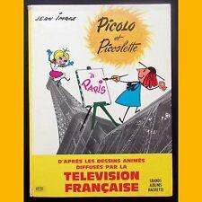 PICOLO ET PICOLETTE À PARIS Jean Image ORTF 1965