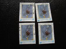 VATICAN - timbre yvert et tellier n° 1015 x4 obl (A28) stamp