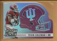 Tevin Coleman RC 2015 panini Prizm Draft Die Cut Rookie Card #43 Atlanta Falcons