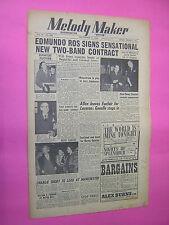 MELODY MAKER. SEPT 22nd 1951. JAZZ & SWING etc. MUSIC MAGAZINE. VINTAGE MAG