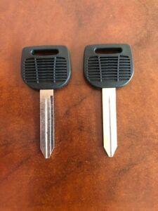 Original Freightliner Semi Truck Key Blanks  - Set of 2