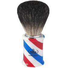 PENNELLO DA BARBA TASSO OMEGA 6736 BARBER BADGER SHAVING BRUSH MADE ITALY