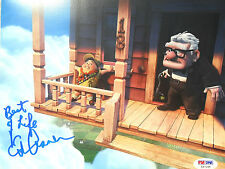 ED ASNER LEGEND ACTOR 8 x 10 inch SIGNED PHOTO PSADNA COA