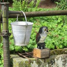 Owl Scarecrow Bird Control Decoy Garden Pest Repellent Realistic Yard Fake Crow