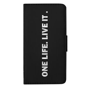 One Life Live it 4x4  Flip Wallet Phone Case Cover for iPhone Samsung Huawei