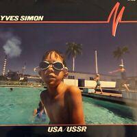Vinyle-LP-33T YVES SIMON - USA/USSR
