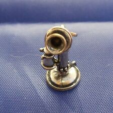 Vintage Sterling Silver Telephone Charm