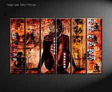 DESIGNBILDER-WANDBILD Relax Buddha Bild Feng Shui Wohnzimmer Kunst  - 180x110cm